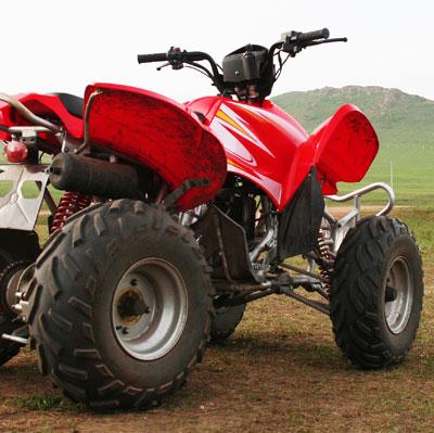 ATVs - All Terrain Vehicles